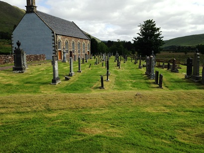 A newly refurbished Clachan Church